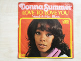 "Donna Summer – Love To Love You Baby / Need-A-Man Blues (Atlantic)(Vinyl/7""), VINIL"