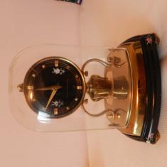 Pendula,ceas de semineu,electromecanic,nemtesc,SCHATZ&SOHNE