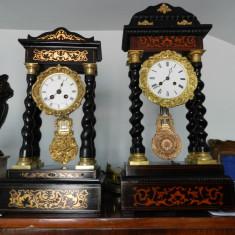 Pendula,ceas de semineu,restaurat,JAPY FRERES 1870