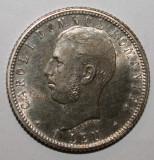 OKAZIE !!! 1 LEU 1906 . UNC . CU PUNCT . RAR ., Argint