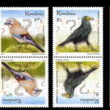 2017 - Romania - PASARI INTELIGENTE-TÊTE BÊCHE tip 1, Natura, Nestampilat