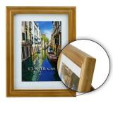 Rama foto lemn, format foto 13X18 cm, Resigilata