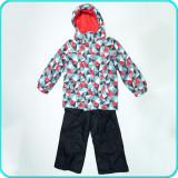 Costum de ski—iarna, calduros, impermeabil,  TOPOLINO→ fete | 6-7 ani | 122 cm, Copii