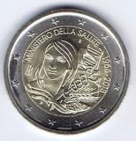 ITALIA moneda 2 euro comemorativa 2018 - Ministerul Sănătății din Italia, UNC, Europa, Cupru-Nichel