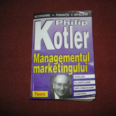 PRINCIPIILE MARKETINGULUI - PHILIP KOTLER