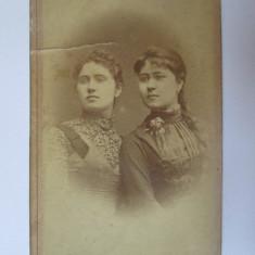 Fotografie pe carton 100 x 64 mm Karl Hahn/Crajova circa 1900