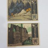 Bancnote notgeld Germania - lot 2 bucati 1921