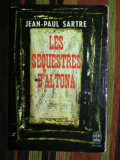 Les sequestres d'Altona  : piece en cinq actes / Jean-Paul Sartre