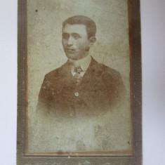 Fotografie pe carton 108 x 70 mm B.Holstein/Constanta circa 1900