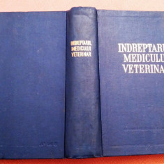 Indreptarul Medicului Veterinar  - Traducere din limba rusa, Alta editura, 1955