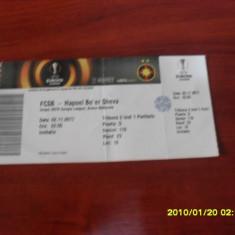 Bilet        FCSB   -  Hapoel  Be'er  Sheva