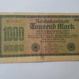 Bancnote notgeld Germania - 1000 marci 1922