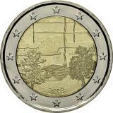 NOU - Finlanda moneda 2 euro 2018 - Sauna - UNC