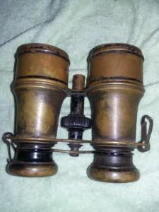Ochean/ Binoclu militar Vechi,binoclu vechi alama,patina deosebita,T.GRATUIT