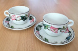 Set - espresso / cafea - Villeroy and Boch - Clarissa - 2 persoane