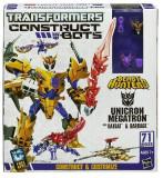 Transformers Constuct Bots Beast Hunters 3 in 1 Unicron Megatron, Ratbat, Barrage