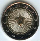 moneda 2 euro comemorativa GRECIA 2018_Unirea Insulele Dodecaneze - UNC