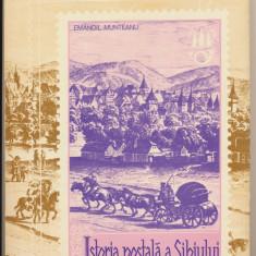 1980 Carte filatelie Sibiu - Emanoil Munteanu - Istoria Postala a Sibiului