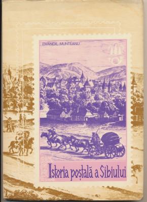 1980 Carte filatelie Emanoil Munteanu - Istoria Postala a Sibiului & Hohe Rinne foto