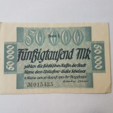 Bancnote notgeld Germania - 50000 marci 1923