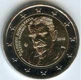 moneda 2 euro comemorativa GRECIA 2018_moartea lui Kostis Palamas - UNC
