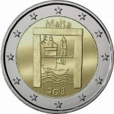 NOU - Malta moneda 2 euro 2018 - Patrimoniul cultural - UNC, Europa