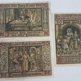Bancnote notgeld Germania - lot 3 bucati 1921