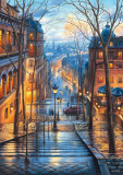 Puzzle Schmidt - 1000 de piese - Evgeny Lushpin : A SPRING MORNING IN MONTMARTRE
