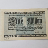 Bancnote notgeld Germania - 1 milion marci 1923