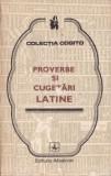 V. Diaconu - Proverbe şi cugetări latine
