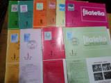 Revista filatelia-1972-nr.1,2,5,6,7,8,9,10,11,12