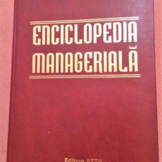 Enciclopedia Manageriala - Prof. univ. dr. ing. Iulian Ceausu, Alta editura, 2000
