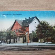 Gara Rahau / Raho - Maramures , Romania , acum in Ucraina . Circulata, Necirculata, Printata