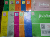 Revista filatelia-1975-set complet 12 numere