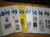Revista filatelia-1984-set complet 12 numere