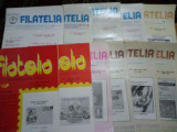 Revista filatelia-1990-set complet 12 numere