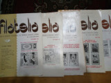 Revista filatelia-1985-nr.1,7,8,9,11