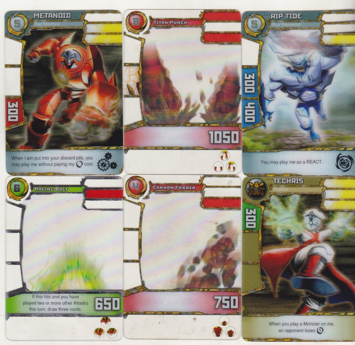 bnk crc Cartonase de colectie - Redakai - 15 diferite