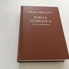 BIBLIA HEBRAICA STUTTGARTENSIA, DEUTSCHE BIBELGESELLSCHAFT STUTTGART 1990