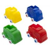 Set 4 camioane Miniland, 9 cm