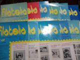 Revista filatelia-1988-set complet 12 numere
