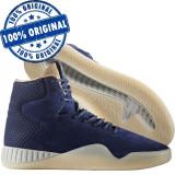 Pantofi sport Adidas Originals Tubular Instinct pentru barbati-adidasi originali, 43 1/3, 44 2/3, Albastru, Piele intoarsa