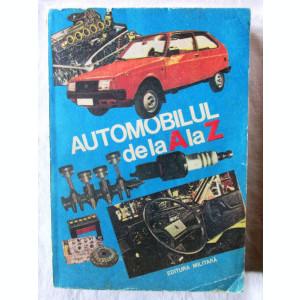 AUTOMOBILUL DE LA A LA Z, C. Arama, 1985