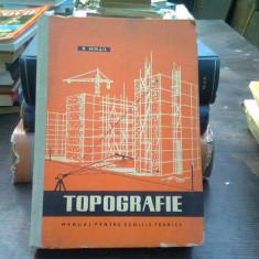 Topografie - D. Mihail (manual scoli tehnice)