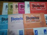 Revista filatelia-1967-nr.2,5,6,7,8,9,10,11,12