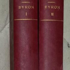 Byron 2 volume prima editie 1930 legata / Andre Maurois