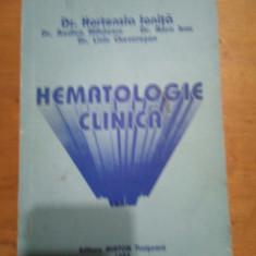 Hematologie clinica-Dr.Hortensia Ionita..., Sasa Pana