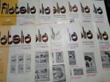 Revista filatelia-1985-set complet 12 numere