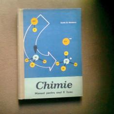 Chimie. Manual pentru anul II liceu - Costin Nenitescu