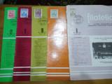 Revista filatelia-1973-nr2,4,5,6,7,8,9,10,11,12